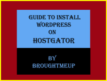 Install wordpress on hostga