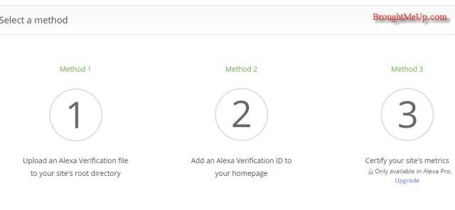 methods to claim site in alexa