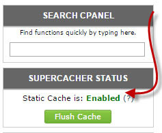 supercacher status