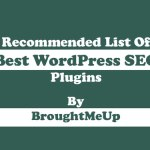 Recommended Best WordPress SEO Plugins For Your Blog