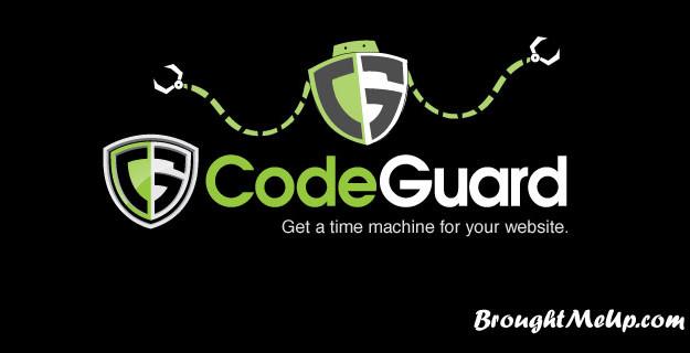 CodeGuard WordPress backup service