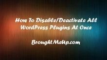 deactivate-wordpress-plugin