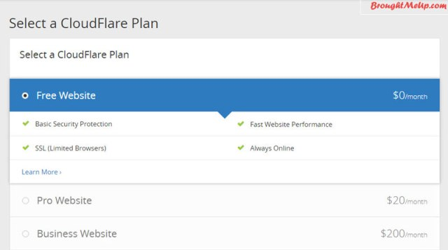 cloudflare free cdn setup
