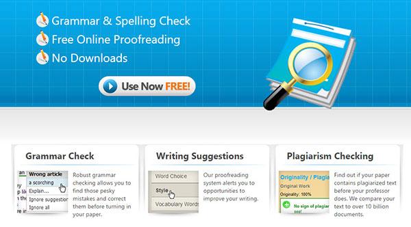 paperrater online grammar checker tool