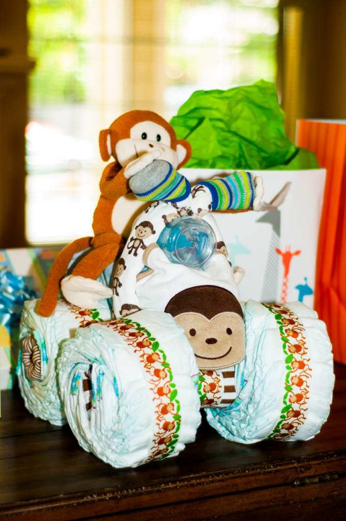 Diaper Cake Motorcycle Instructions Monkey Motorcycle