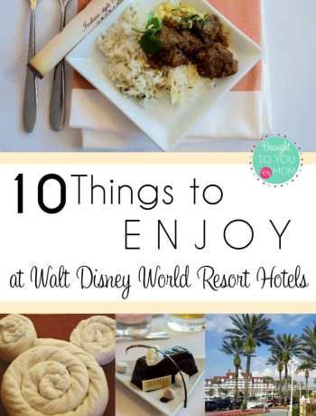 Traveling to Disney is exciting! Did you know though that there are other amazing things to do at your resort hotel? Get your nails done, enjoy yoga with maybe some cupcakes later...there are many things to do right where you are staying! Check out 10 ideas for your next stay.