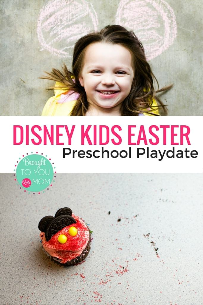 Disney Kids Easter Preschool Playdate. Fun ideas from our Disney Kids Preschool Playdate from food recipes, craft tutorials and more. All Disney themed. Great for any playdate.