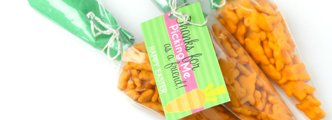 Easter Snacks for Preschoolers + FREE Printable