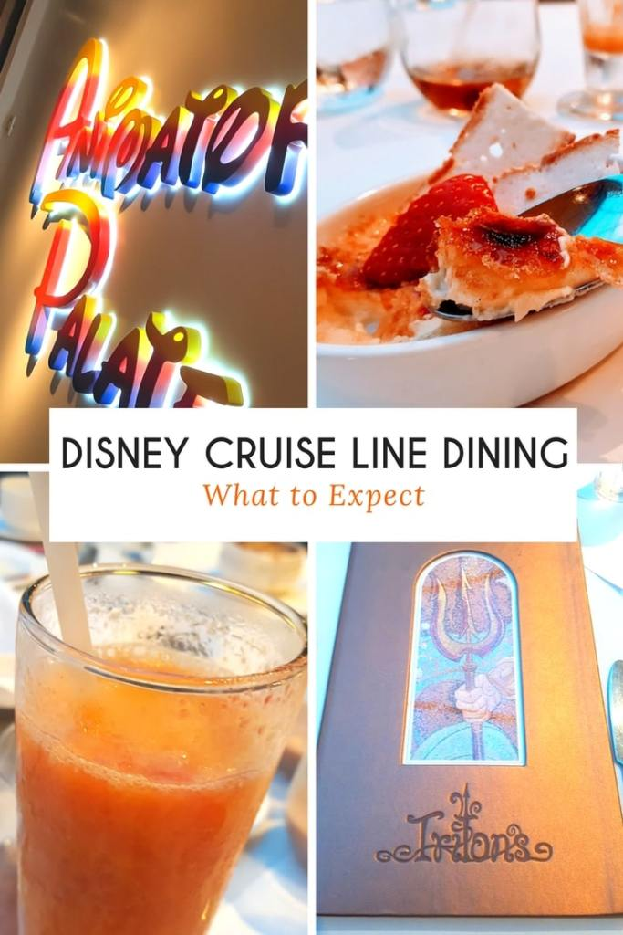Disney Cruise Line Dining is nothing like you've experienced before. Check out what to expect with Disney Cruise Line Dining.