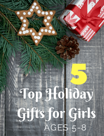 Holiday gifts for girls this 2017. 5 Top Holiday Gifts for Girls ages 5-8. Top ideas of what to give your little girl this Christmas.