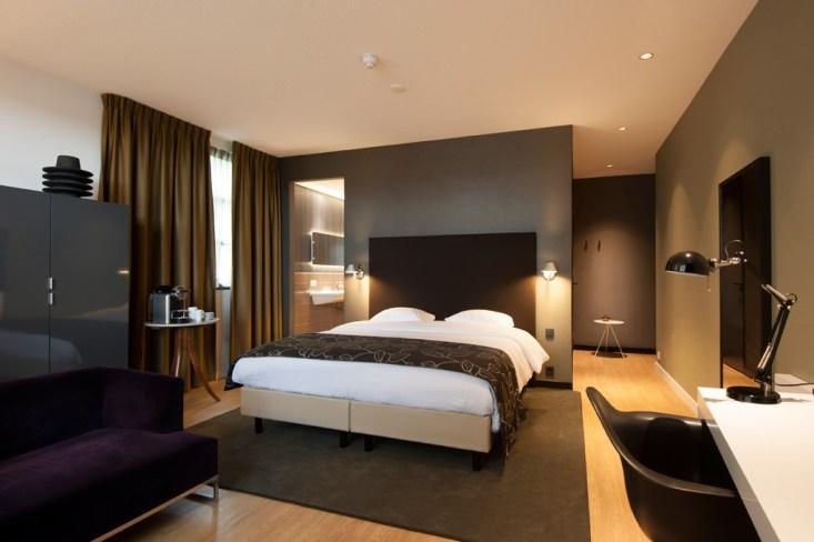 Green-Suite Hotel Room - Wandbekleding Vescom - Brouwer Schilders Dalfsen