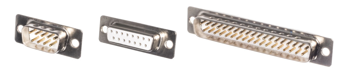 Conectores Dsub densidad ordinaria