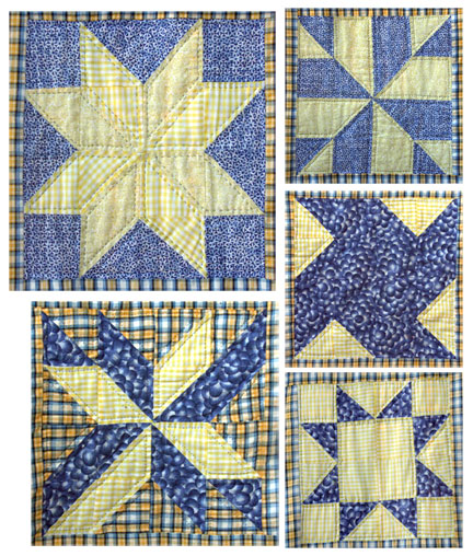 I love these quilt blocks. They are my favorite.
