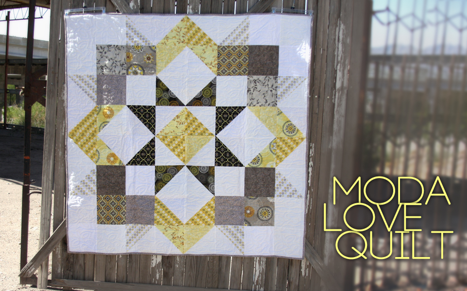 Moda Love Quilt Finished At Last Brown Bird Designs