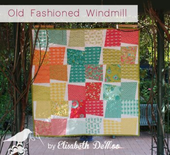 Old fashioned windmill quilt