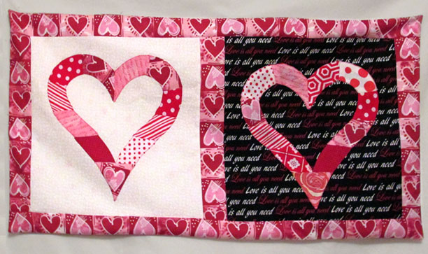Heart blocks by Nancy