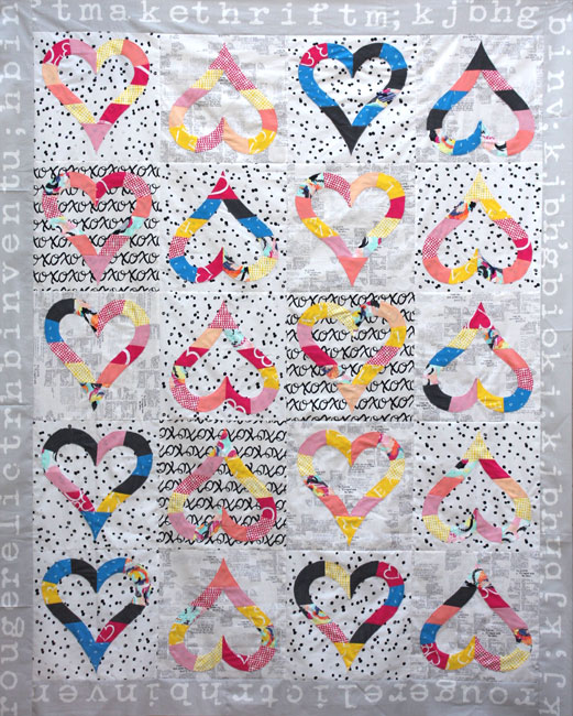 Whole Lotta Love Quilt Top