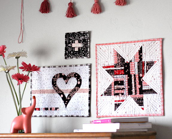 Valentine's Mini Quilts