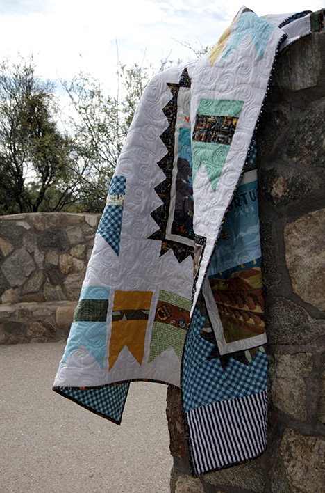 National Park Fabric Quilt