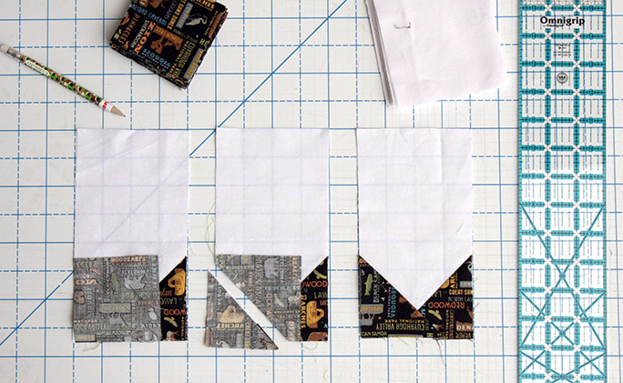 Collector of Stamps Quilt Tutorial - Step 3