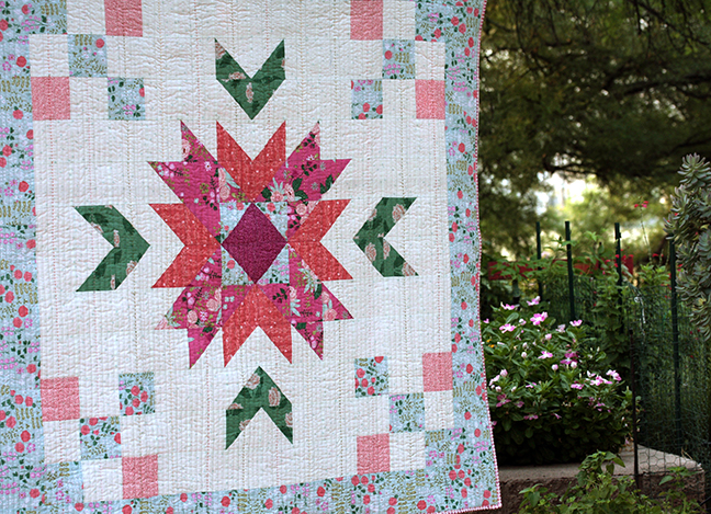 New Dawn fabric by Citrus and Mint Designs