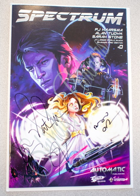 Con Man Comic - Autographed by Creators