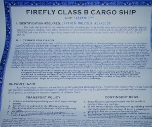 Ship's Policies