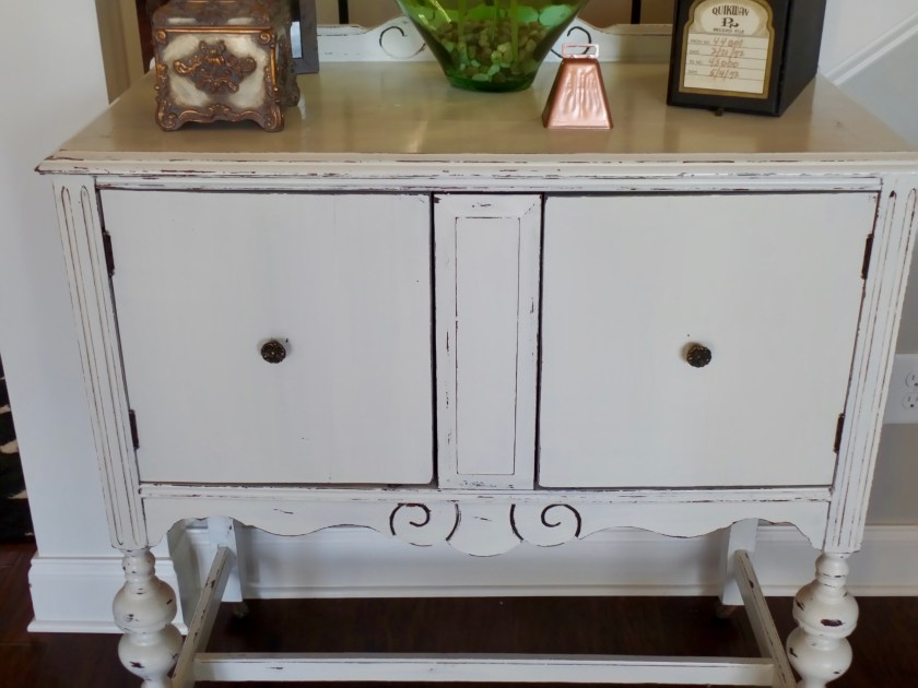 Painted Antique White Buffet