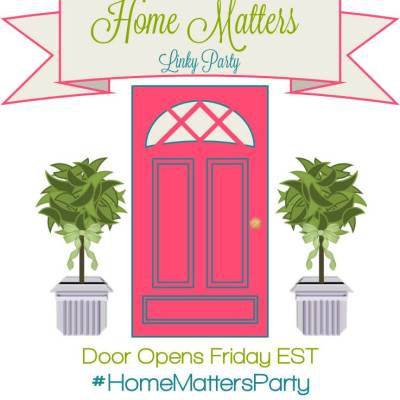 Home Matters Linky Party #146