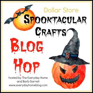 DIY halloween crafts with dollar store materials