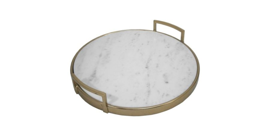 Marble and gold tray top 10 trays and baskets