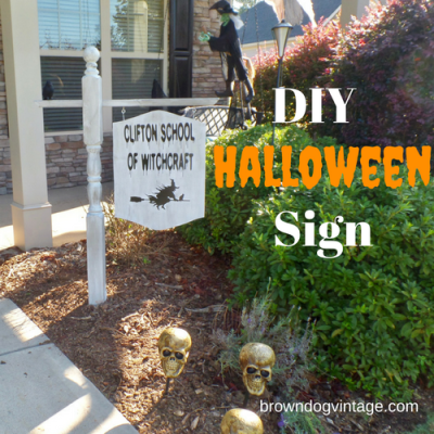 DIY Spooky Halloween Yard Decorations