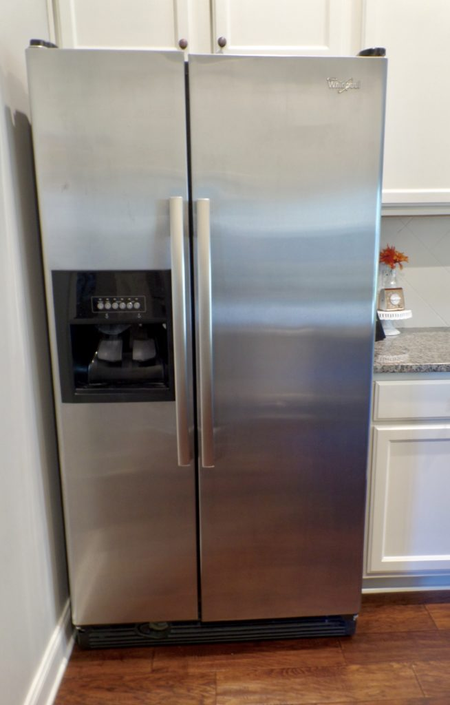 easiest way to clean stainless steel appliances