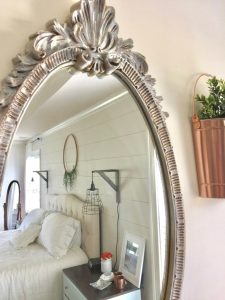 farmhouse style decor mirror makeover