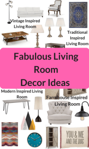 Fabulous Living Room decorating ideas - Modern,Vintage, Traditional,and Farmhouse Decor Ideas