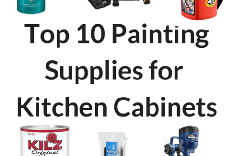 Top 10 painting supplies for thrifty diy kitchen cabinet makeover