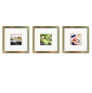 Mixed metals gifts gold frames