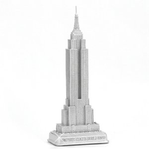 Mixed metals gifts silver empire state