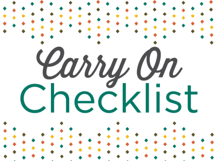 caribbean vacation checklist traveling checklist for packing