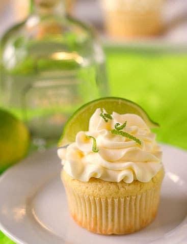 Margarita Cupcakes   browneyedbaker.com