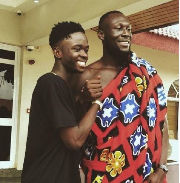 Yaw Tog 'clashes' with Stormzy in London few days after claiming he made the British rapper more popular in Ghana(Video)