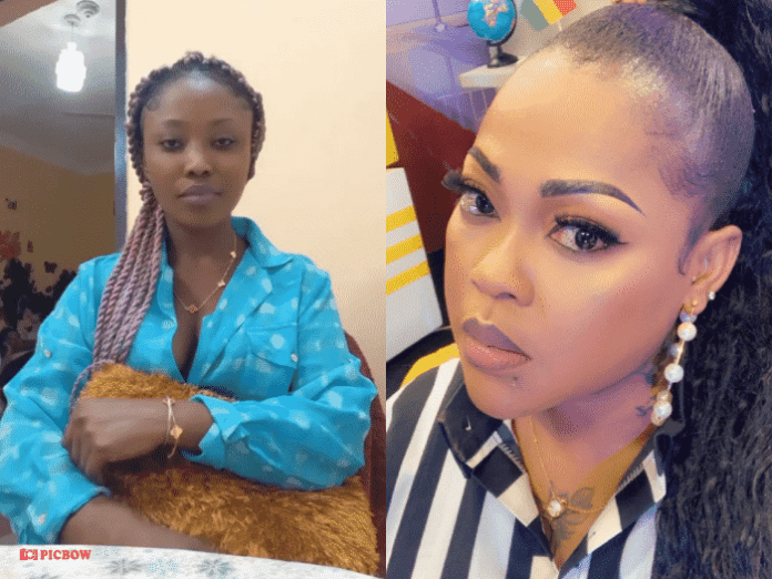 Go & discuss your gay son on TV-Joyce Boakye hits back at Mona Gucci (Video)