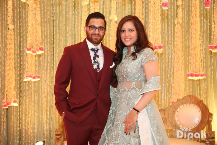 Brother and Sister Duo who founded the NJ based bridal Boutique, Nazranaa