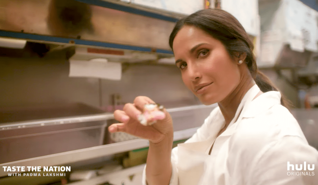 Padma Lakshmi Taste The Nation Episode Still