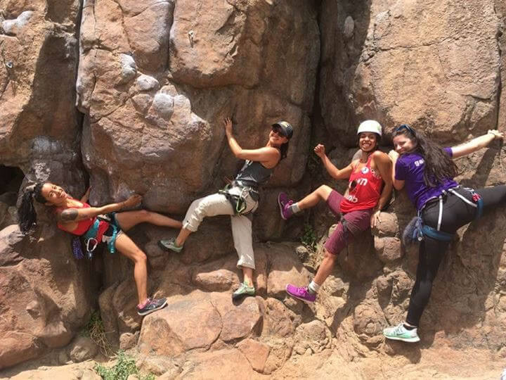 Image result for rock climbing Creates social connections.