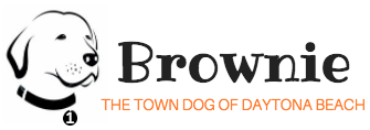 Brownie the Town Dog logo