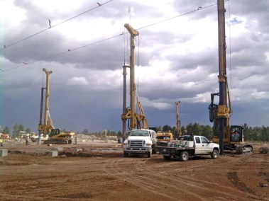 IMTs Drilling Mountain Top