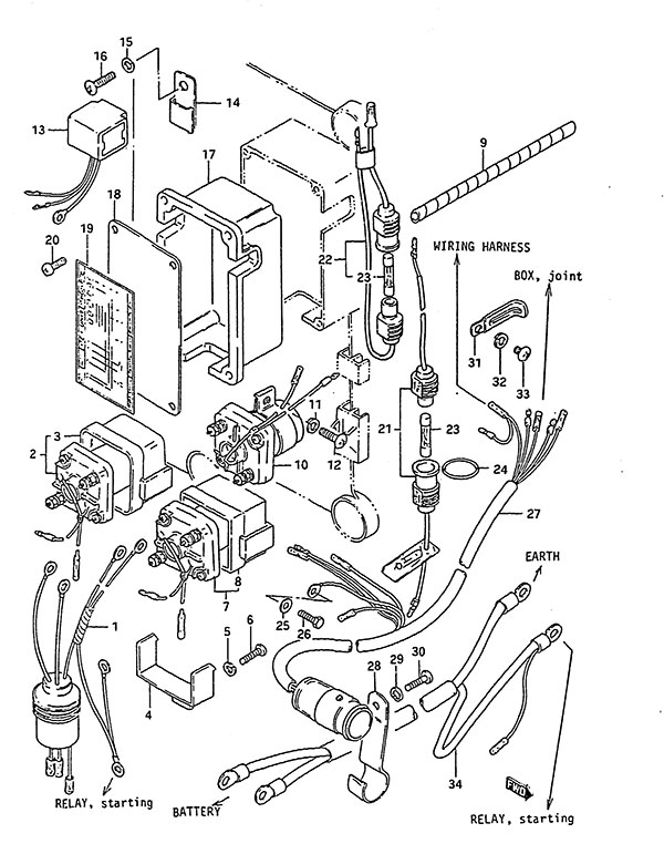 Johnson Evinrude Ignition Wiring Diagram