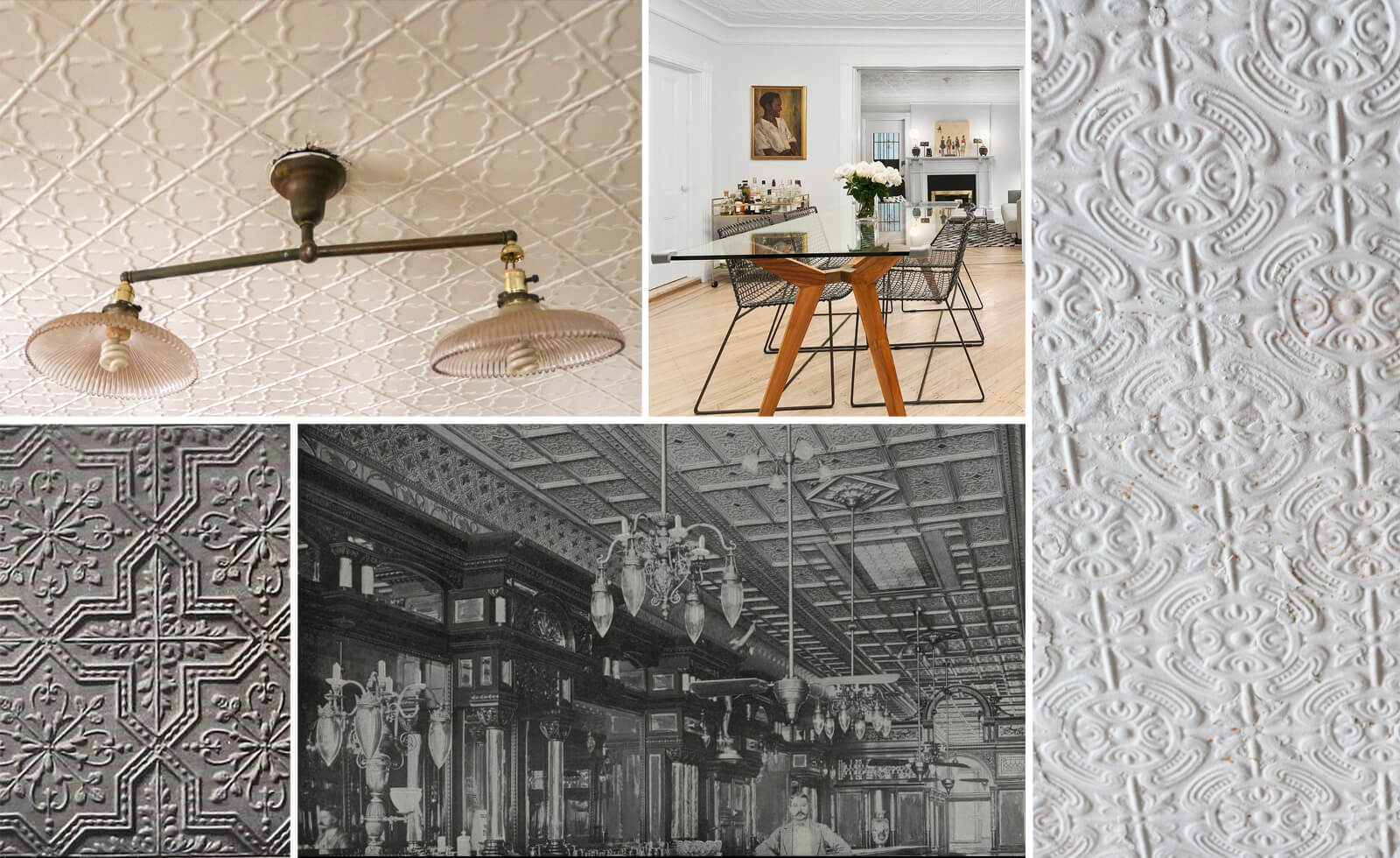 imitation plaster tin ceilings