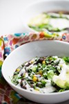 black bean vegan insta pot soup